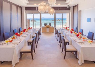 艾妮絲教堂婚宴餐,有體諒到新人請客的心意,我們有請主廚規劃出7560日圓的美食喔