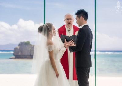 千田愛紗沖繩婚禮18