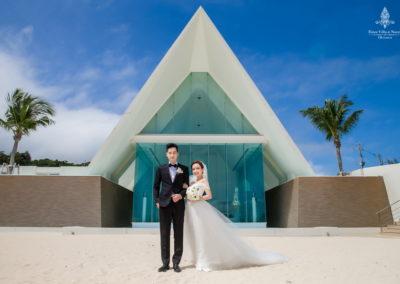 千田愛紗沖繩婚禮22