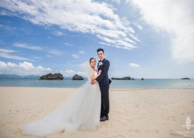 千田愛紗沖繩婚禮28