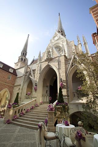古羅斯多尼英式古堡婚禮