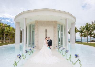 藍色海洋教堂幸福分享