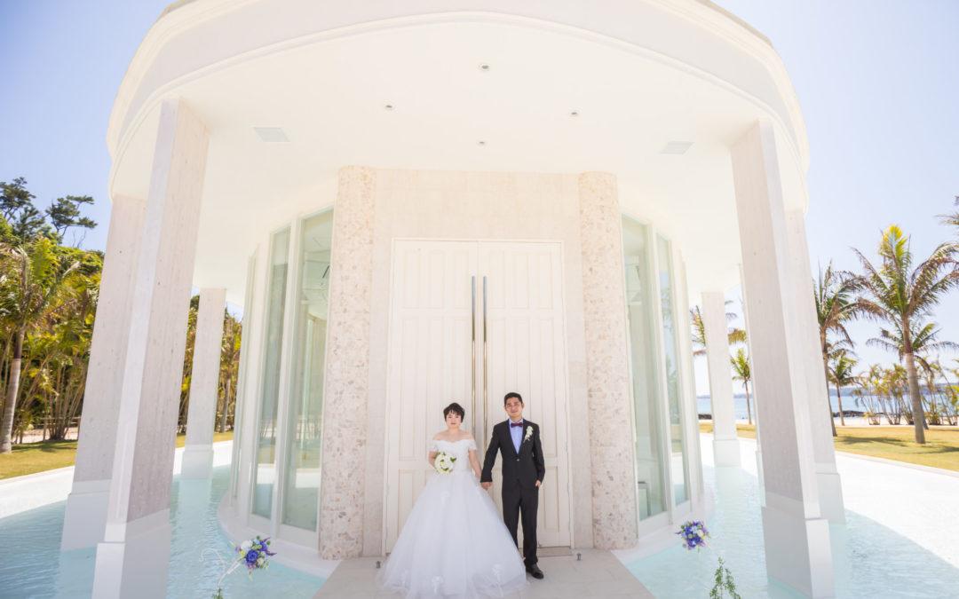 CHOUCHOU與KAIKAI-藍色海洋教堂幸福分享