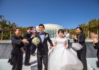 沖繩藍色海洋教堂幸福分享