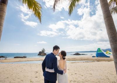 元昇與彥婷-沖繩藍色海洋教堂幸福分享