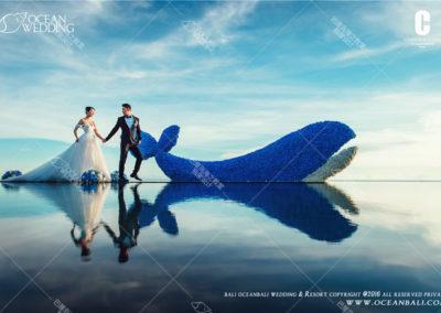 巴里島天空之鏡婚禮 OCEAN SKY WATER WEDDING