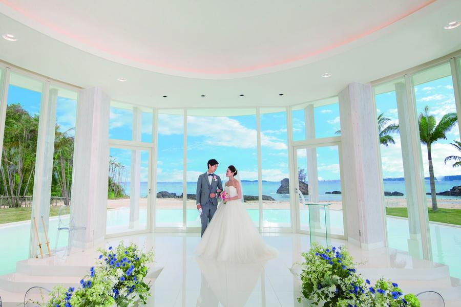 沖繩藍色海洋教堂 GRAND BLEU CHAPEL