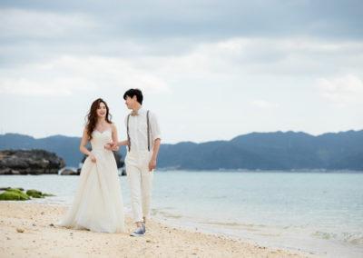 沖繩艾妮絲教堂私人海灘拍照