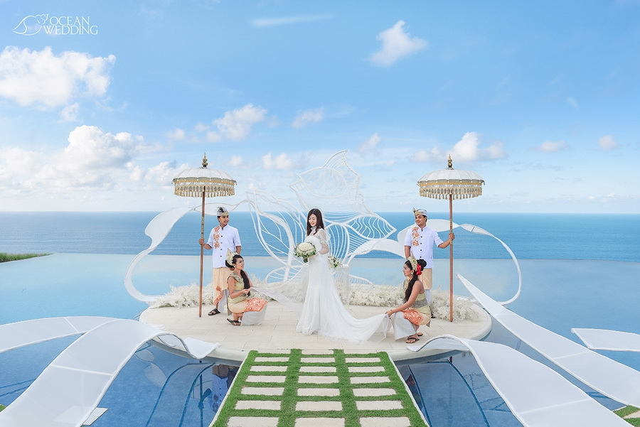 巴里島夢幻島水台婚禮 Fantasy Island Wedding