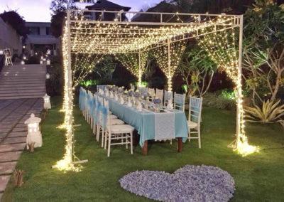 愛戀海外婚禮巴里島的婚宴餐